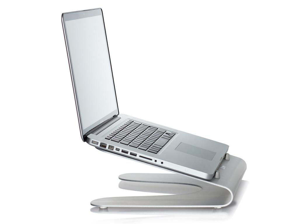 xMount@Wave MacBook Stand/Tischständer alu