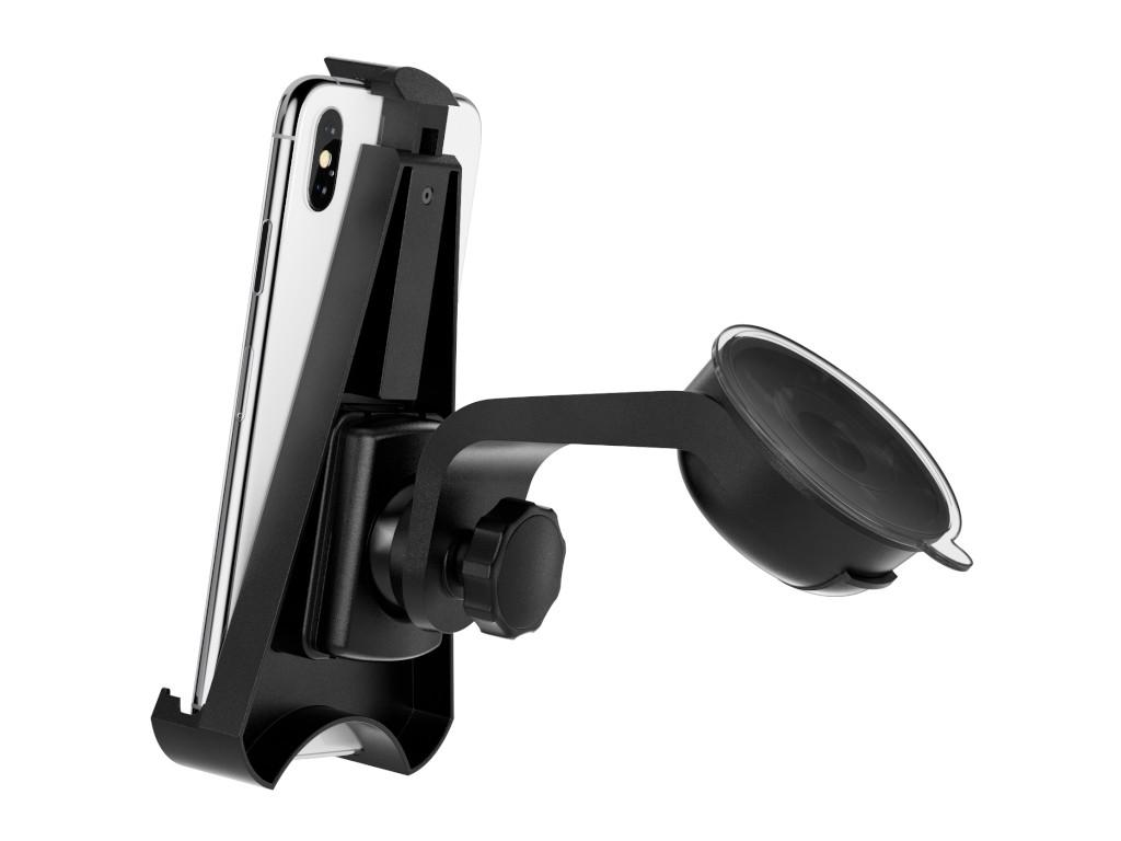 xMount@Car&Home - iPhone Xs Max Saugnapfhalterung hält bombenfest im Auto