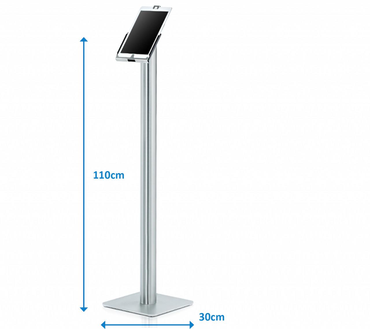 xMount@Stand Energie - iPad 2 Bodenständer Mit iPad Diebstahlsicherung und Ladefunktion