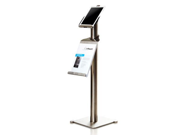 xMount@Info - iPad Bodenständer Prospekhalter