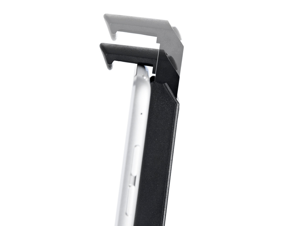 xMount@Wall - iPad 2 Wandhalterung positioniert das iPad an jeder Wand platzsparend