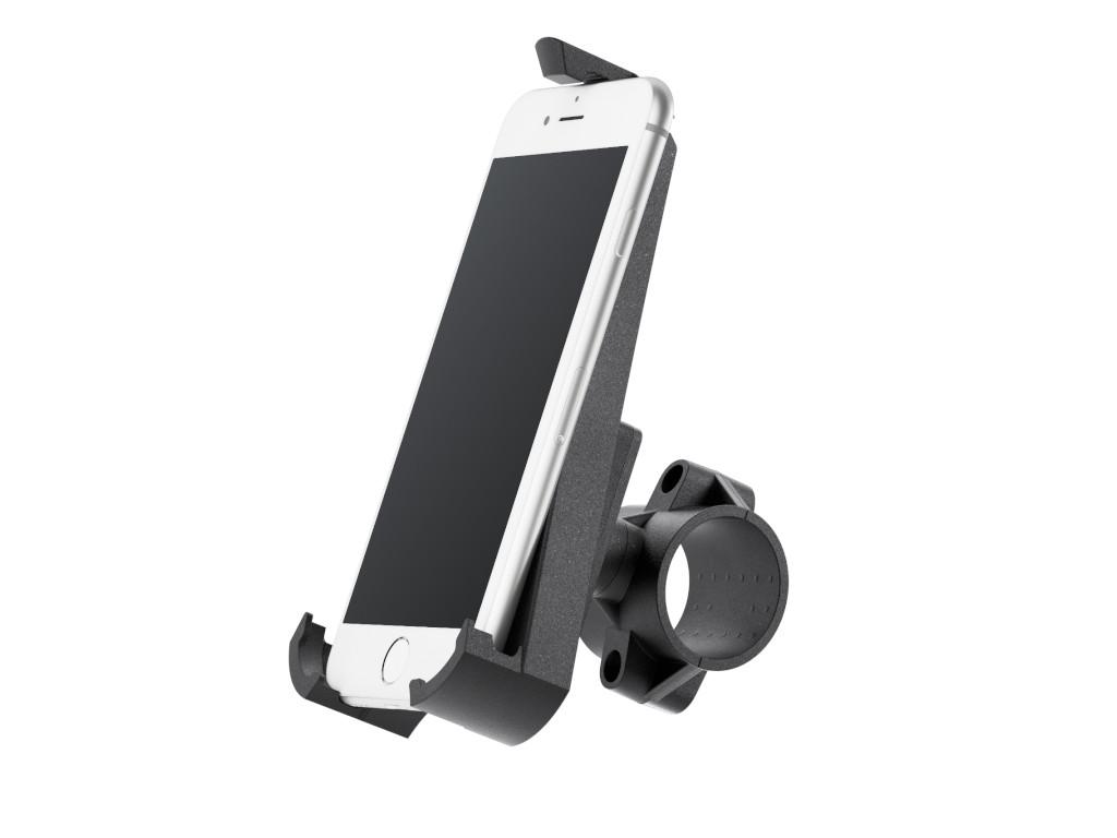 xMount@Bike - iPhone SE (2020) Fahrradhalterung behält das iPhone im Blick und die Hände am Lenker