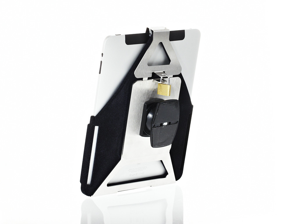 xMount@Wall Secure - iPad 1 Diebstahlsicherung als Wandhalterung 360° dreh und neigbar
