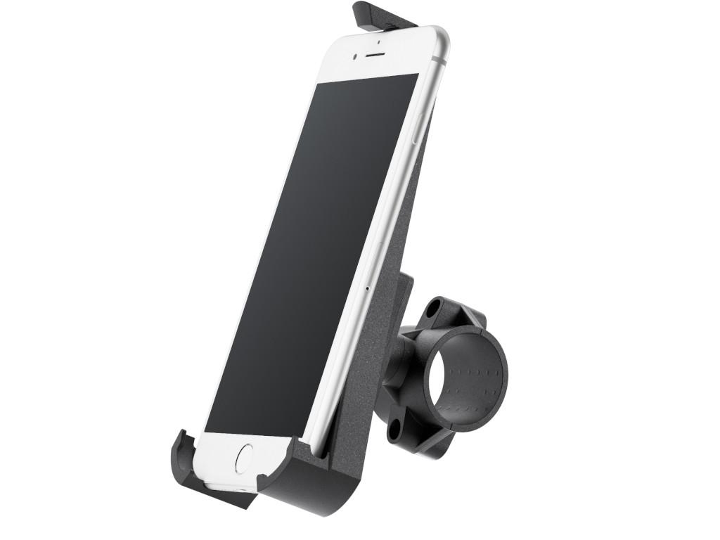 xMount@Bike - iPhone 8 Plus Fahrradhalterung behält das iPhone im Blick und die Hände am Lenker