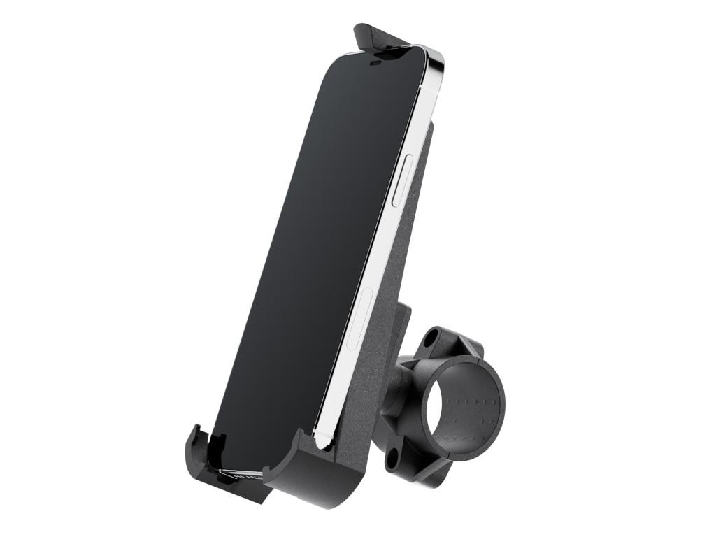 xMount@Bike - iPhone 12 Pro Fahrradhalterung behält das iPhone im Blick und die Hände am Lenker