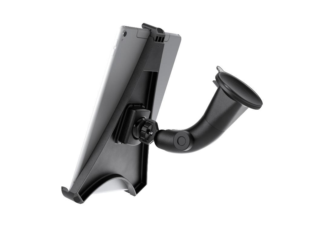 "xMount@Car&Home Flexibel - iPad Pro 9,7"" Saugnapfhalterung hält bombenfest im Auto"