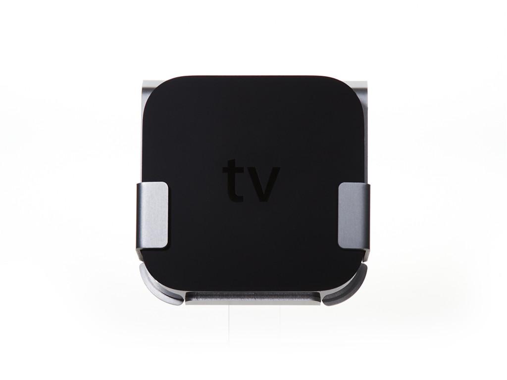 xMount@TV alu Apple TV 2/3 Wandhalterung