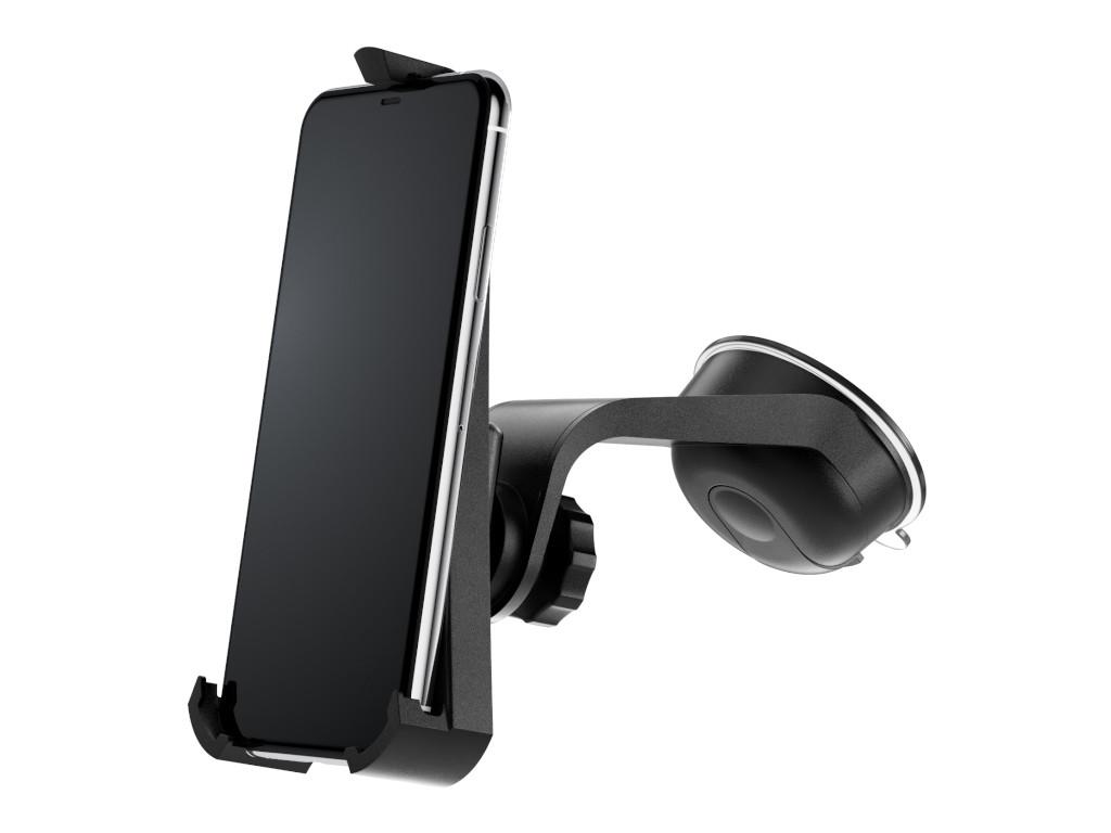xMount@Car&Home - iPhone 11 Pro Max Saugnapfhalterung hält bombenfest im Auto
