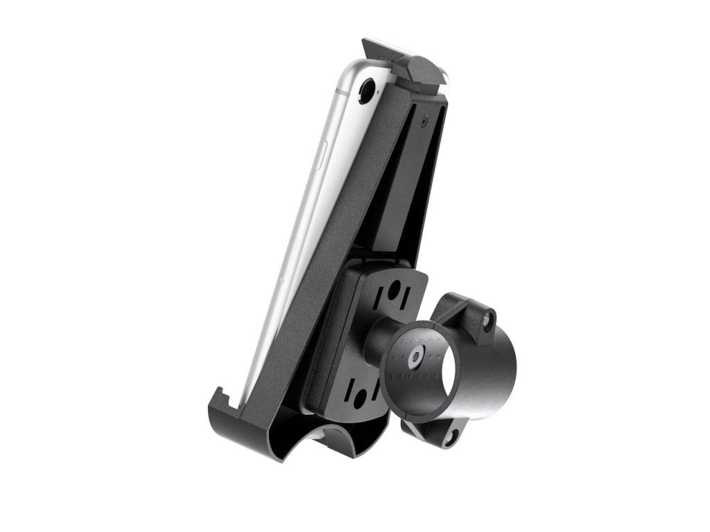 xMount@Bike - iPhone 7 Fahrradhalterung behält das iPhone im Blick und die Hände am Lenker