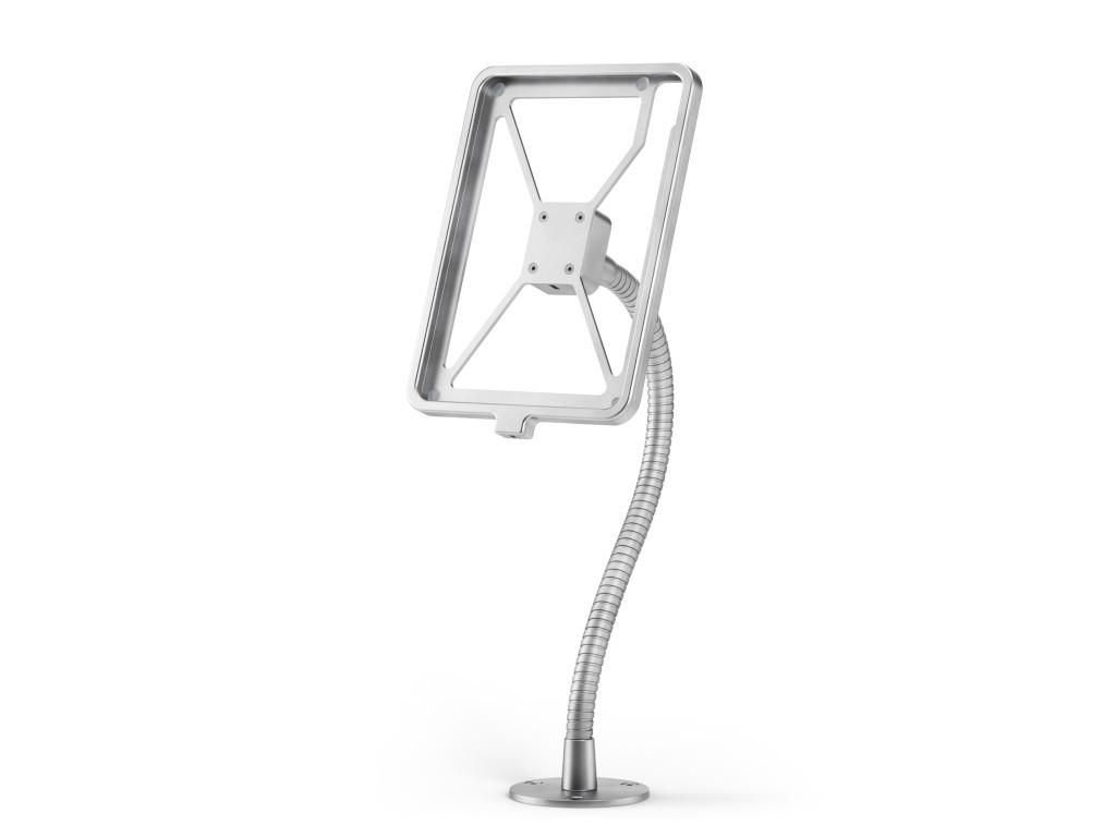 xMount@Desk Secure2 - iPad Diebstahlsicherung als Tisch und Thekenhalterung mit Schwannenhals und La