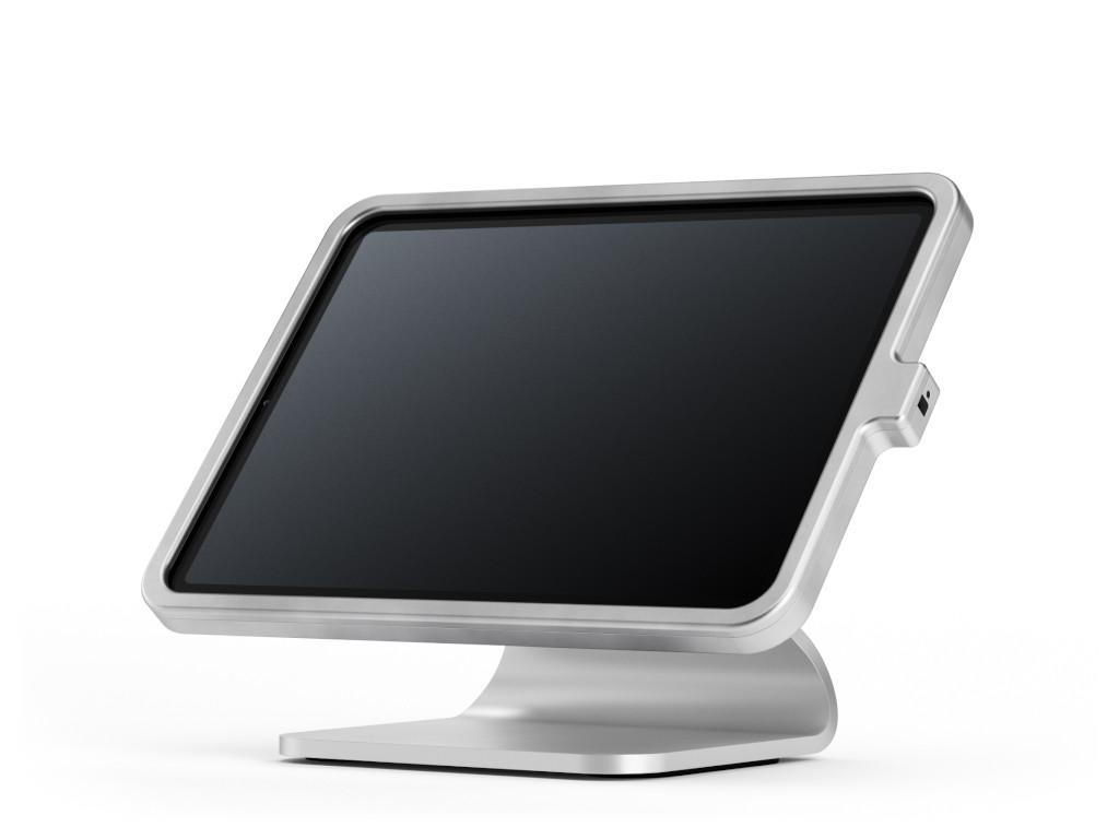 """xMount@Table top - iPad Air 4 10,9"""" Diebstahlsicherung als Tisch und Thekenhalterung aus hochwe"""