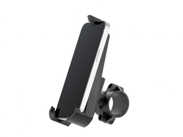 xMount@Bike - iPhone 13 mini Fahrradhalterung behält das iPhone im Blick und die Hände am Lenker