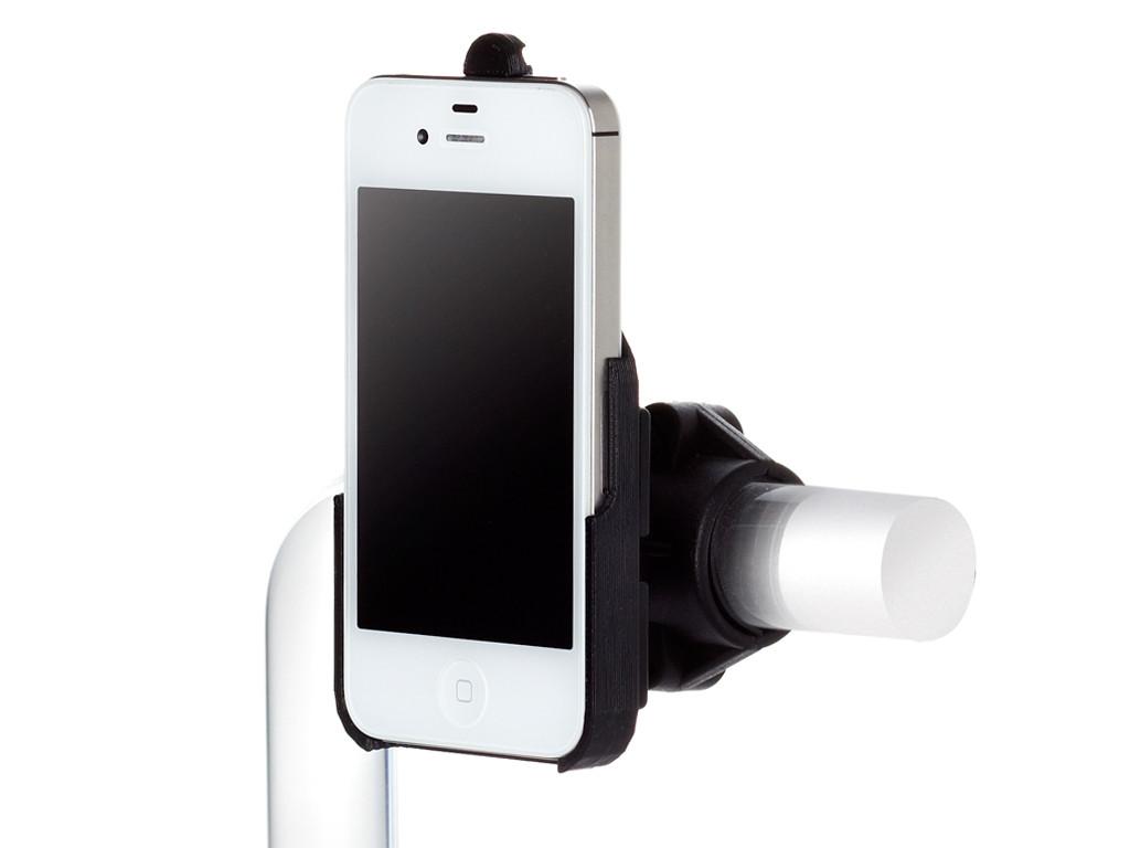 xMount@Bike - iPhone 4 & 4s Fahrradhalterung behält das iPhone im Blick und die Hände am Lenker