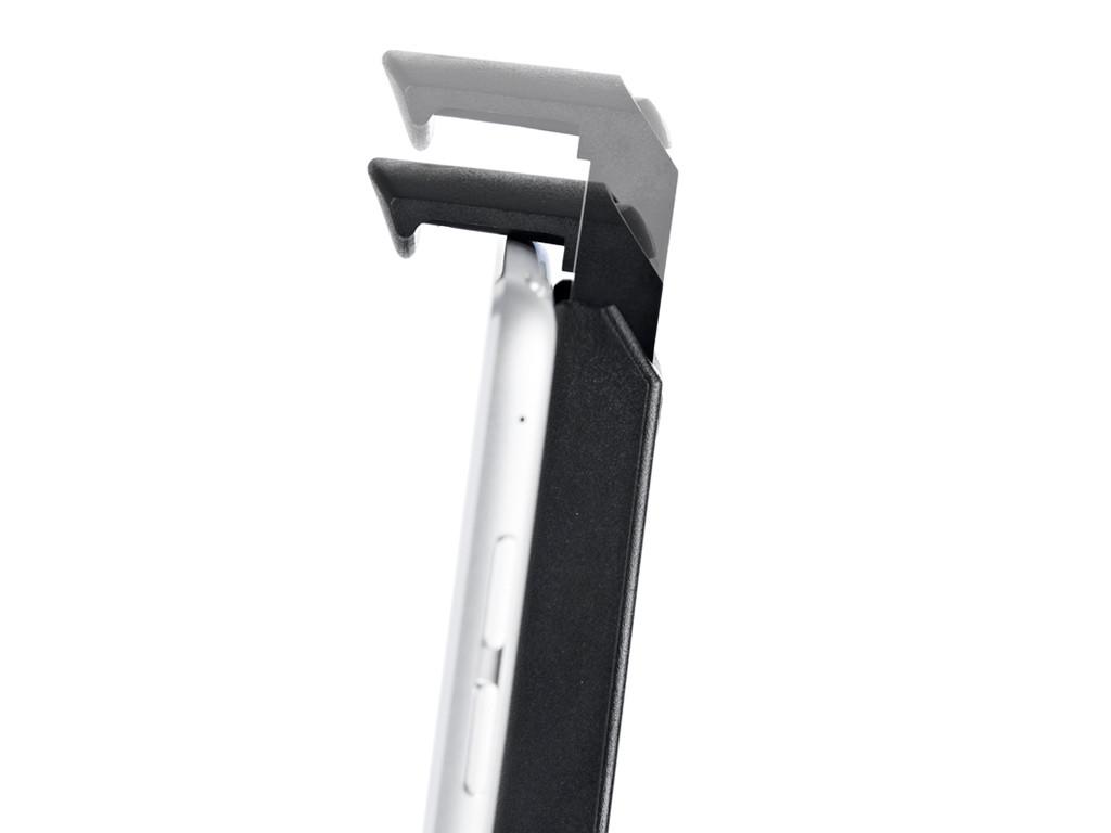 xMount@Wall - iPad 4 Wandhalterung positioniert das iPad an jeder Wand platzsparend