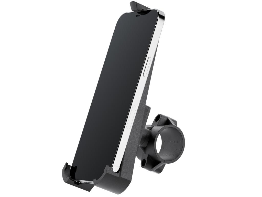 xMount@Bike - iPhone 12 Pro Max Fahrradhalterung behält das iPhone im Blick und die Hände am Lenker