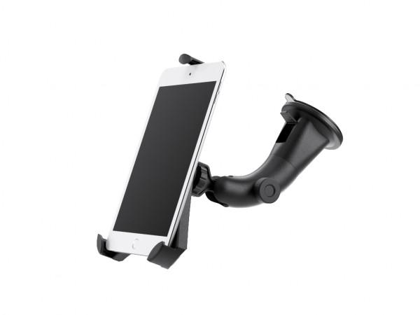 xMount@Car&Home Flexibel - iPad mini 2 Saugnapfhalterung hält bombenfest im Auto