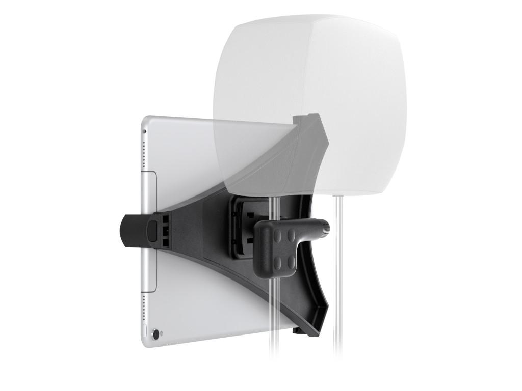 xMount@Car Flexibel - iPad Air Kofstützenhalter bringt das Kino ins Auto