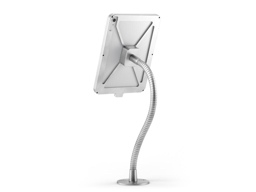 """xMount@Desk Secure2 - iPad Air 4 10,9"""" Diebstahlsicherung als Tisch und Thekenhalterung mit Schwanen"""