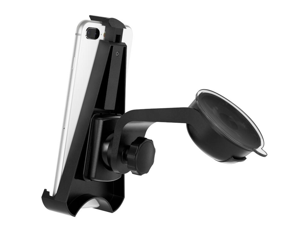 xMount@Car&Home - iPhone 7 Plus Saugnapfhalterung hält bombenfest im Auto