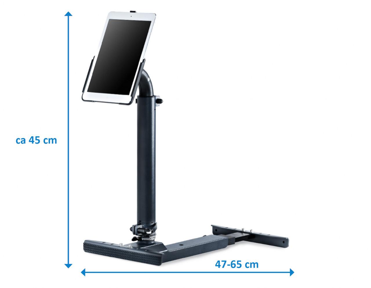 xMount@Professional light - iPad 3 Profesional Halter gibt sicherheit schenkt Freiheit
