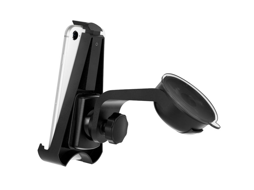 xMount@Car&Home - iPhone SE (2020) Saugnapfhalterung hält bombenfest im Auto