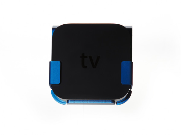 xMount@TV blau Apple TV 2/3 Wandhalterung