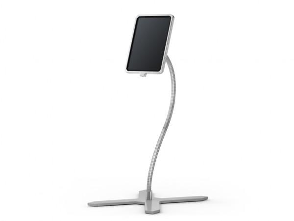 xMount@Flex Secure2 - iPad Bodenständer mit iPad Diebstahlsicherung und Ladefunktion