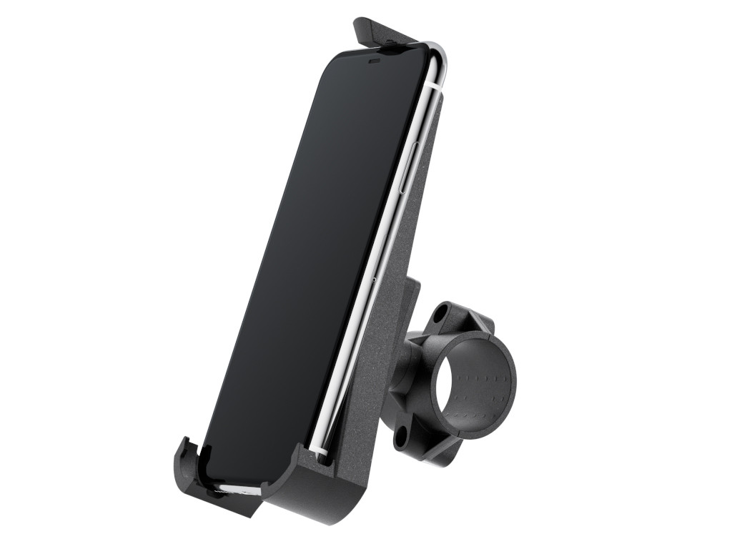 xMount@Bike - iPhone 12 Max Fahrradhalterung behält das iPhone im Blick und die Hände am Lenker