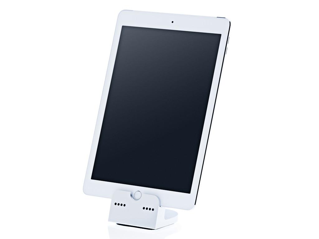 xMount@Dock - iPad 2018 Dockingstation aus Aluminium gefertig in 4 Farben erhältlich