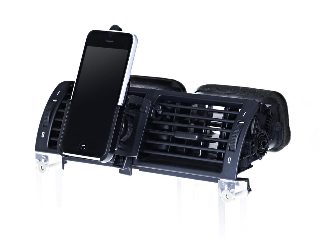 xMount@Air - iPhone 5c Lüftungshalter im Auto einfach praktisch