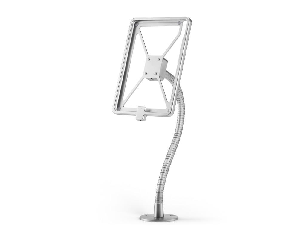 xMount@Desk Secure2 - iPad 2 Diebstahlsicherung als Tisch und Thekenhalterung mit Schwannenhals und