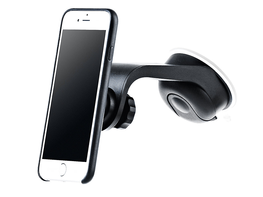 xMount@Cover Mount Car holder for iPhones in the protective sleeve