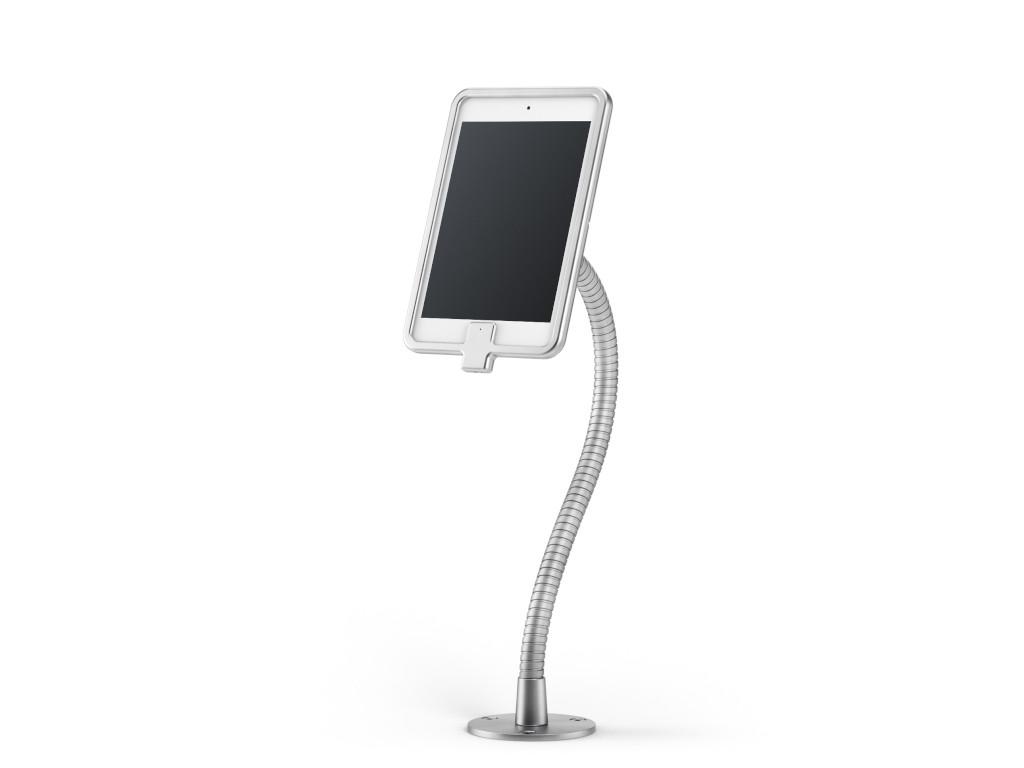 xMount@Desk Secure2 - iPad mini 5 Diebstahlsicherung als Tisch und Thekenhalterung mit Schwannenhals