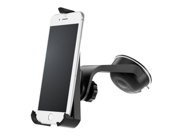 xMount@Car&Home - iPhone 8 Plus Saugnapfhalterung hält bombenfest im Auto