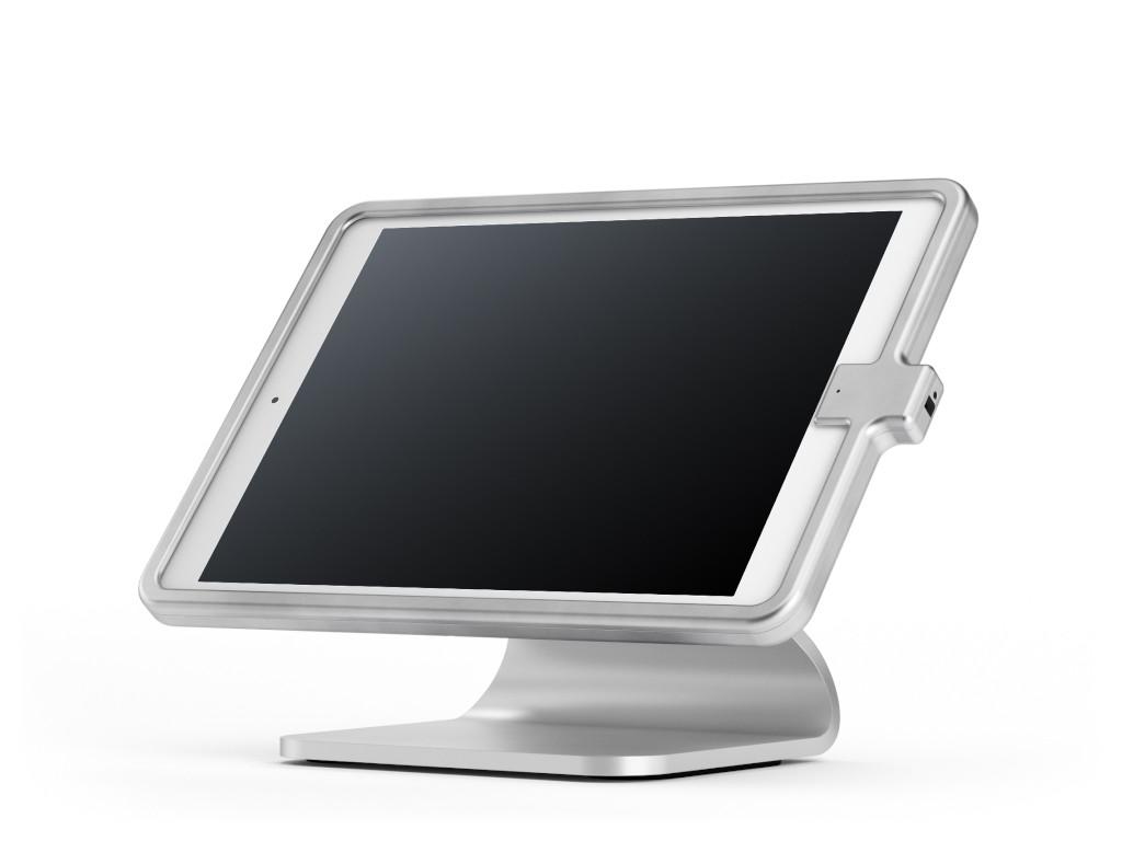 """xMount@Table top - iPad 10,2"""" Diebstahlsicherung als Tisch und Thekenhalterung aus hochwertigem Alum"""