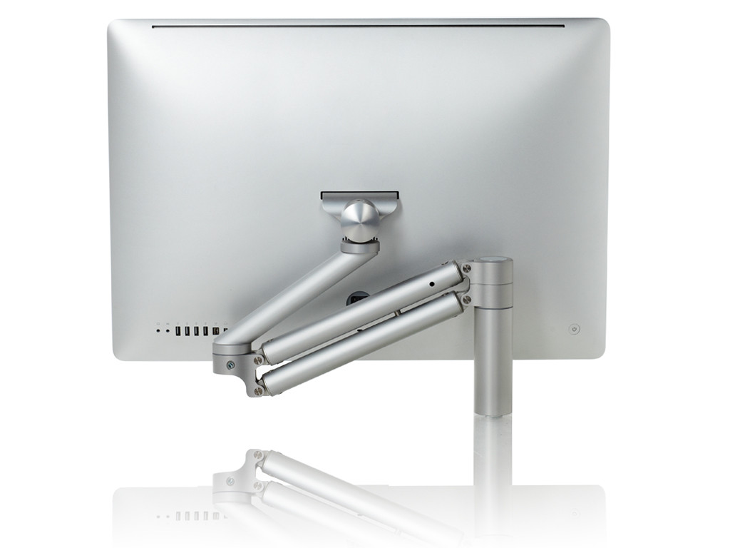 "xMount@Lift iMac 27"" desk clamp mount"
