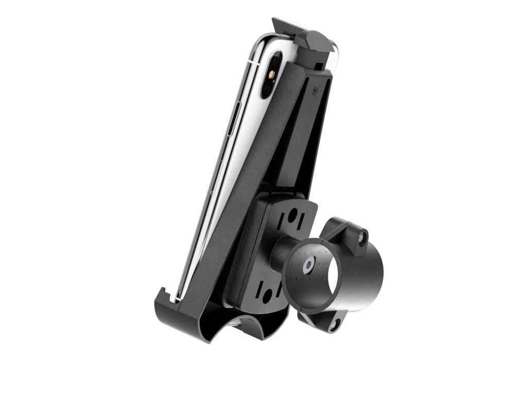 xMount@Bike - iPhone Xs Fahrradhalterung behält das iPhone im Blick und die Hände am Lenker