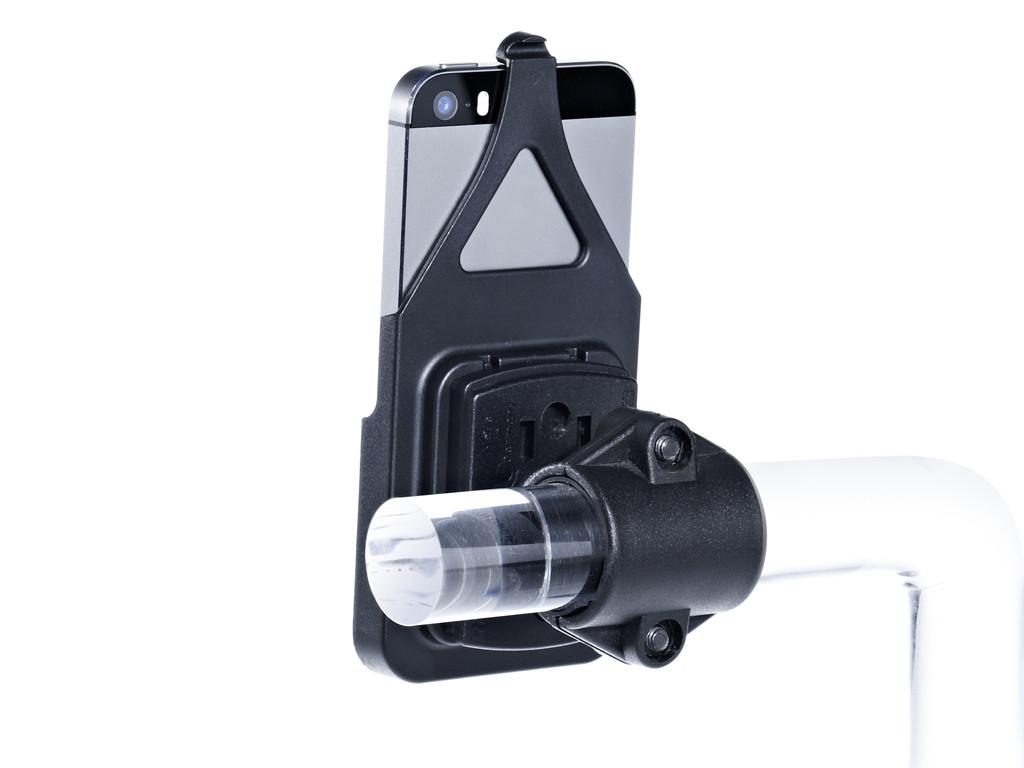 xMount@Bike - iPhone 5s Fahrradhalterung behält das iPhone im Blick und die Hände am Lenker