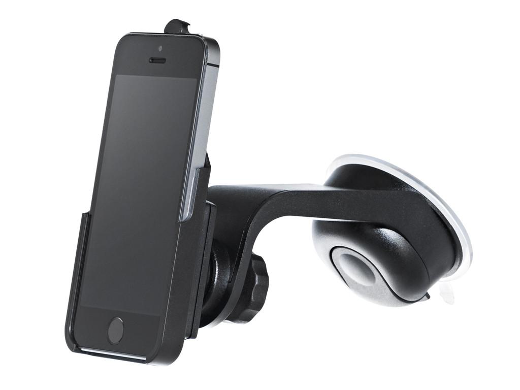 xMount@Car&Home - iPhone 5s Saugnapfhalterung hält bombenfest im Auto