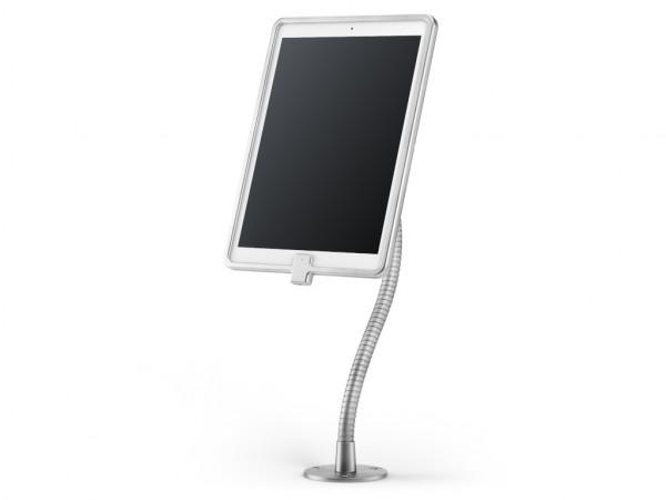 """xMount@Desk Secure2 - iPad Pro 12,9"""" Diebstahlsicherung als Tisch und Thekenhalterung mit Schwannenh"""