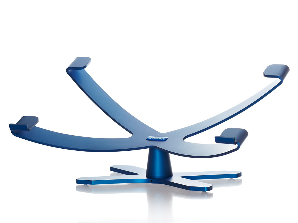 xMount@Sphere MacBook Stand/Tischständer blau