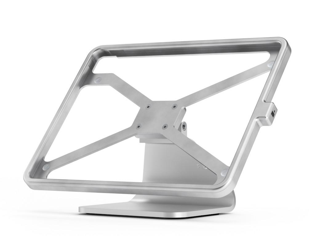 """xMount@Table top - iPad Pro 12,9"""" / 2020 Diebstahlsicherung als Tisch und Thekenhalterung aus hochwe"""