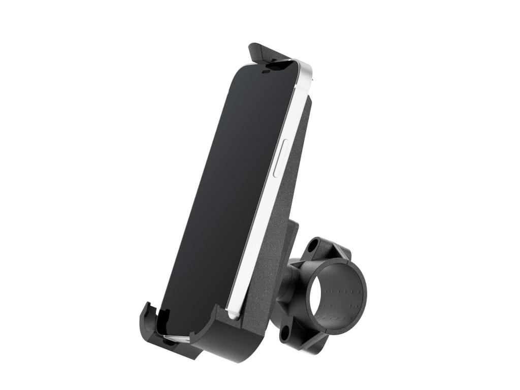 xMount@Bike - iPhone 12 mini Fahrradhalterung behält das iPhone im Blick und die Hände am Lenker