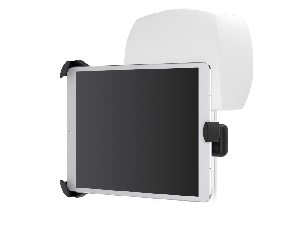 "xMount@Car Flexibel - iPad Pro 9,7"" Kofstützenhalter bringt das Kino ins Auto"