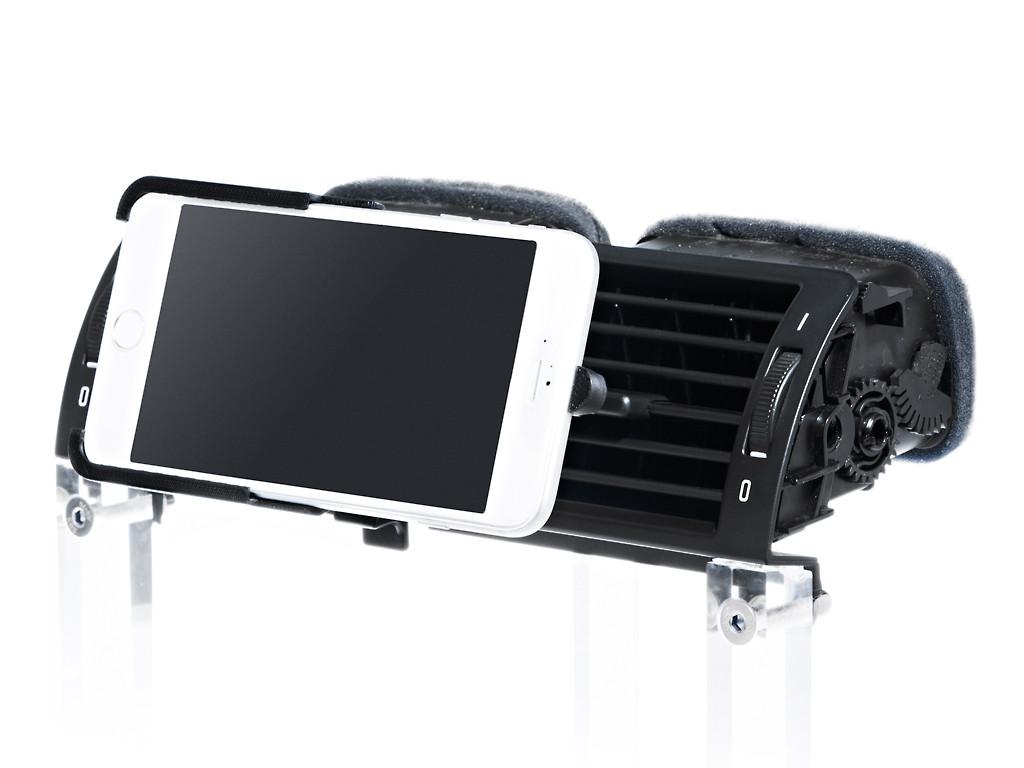 xMount@Air - iPhone 7 Plus Lüftungshalter im Auto einfach praktisch