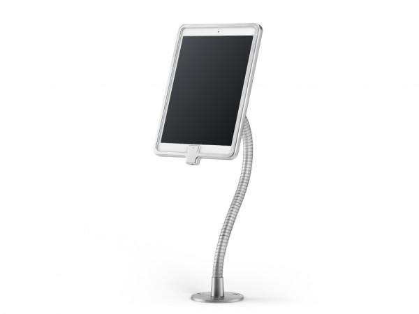 xMount@Desk Secure2 - iPad 3 Diebstahlsicherung als Tisch und Thekenhalterung mit Schwannenhals und