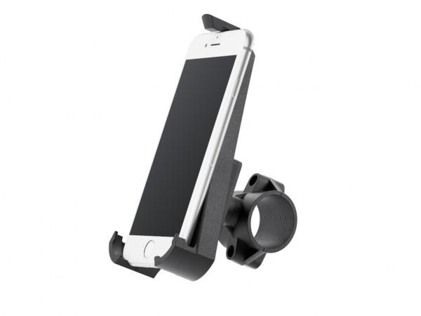 xMount@Bike - iPhone 8 Fahrradhalterung behält das iPhone im Blick und die Hände am Lenker