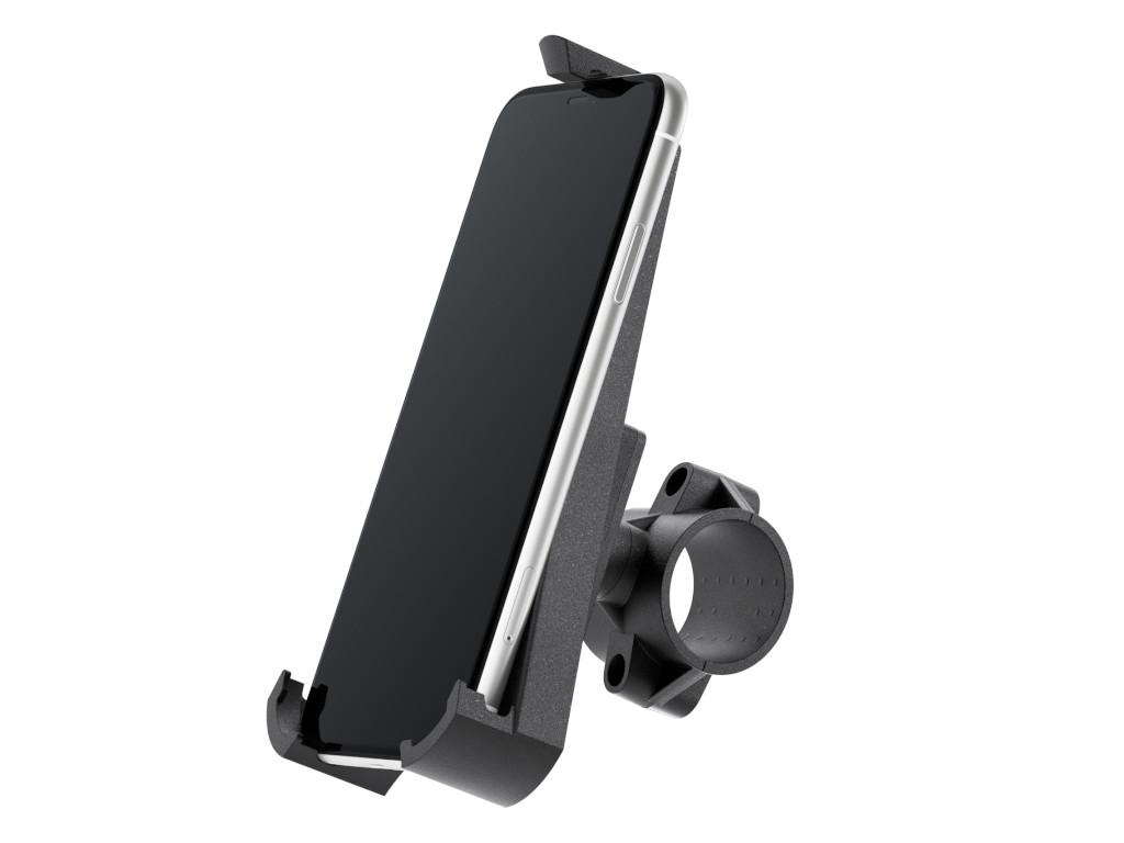xMount@Bike - iPhone XR Fahrradhalterung behält das iPhone im Blick und die Hände am Lenker